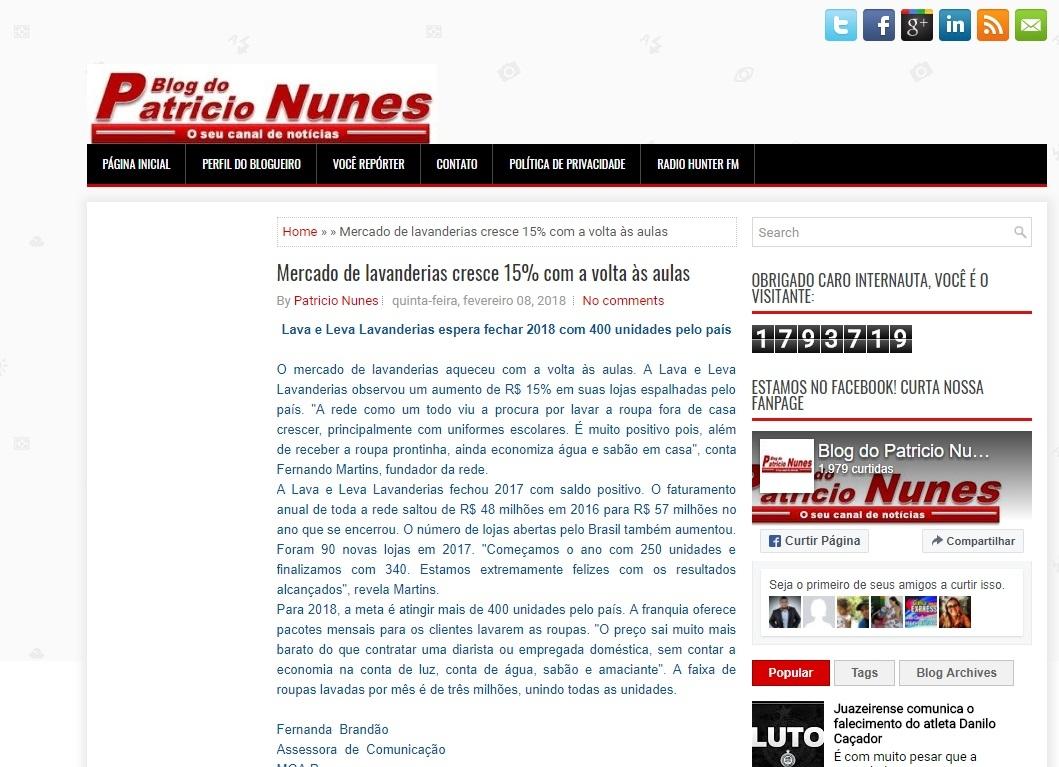 Blog Patrício Nunes